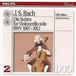 Cellosuiten BWV 1007-1012 [2CD]