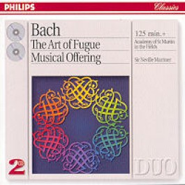 The Art of Fugue, Musical Offering [2CD]