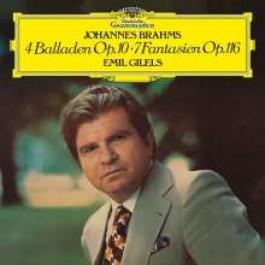4 Balladen Op. 10   7 Fantasien Op. 116 [CD]