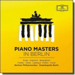 Piano Masters in Berlin: Great Concertos [8CD]