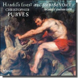 Handel's finest Arias for Base Voice II [CD]