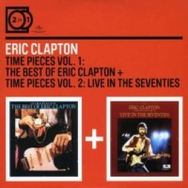 Time Pieces Vol. 1: The Best of Eric Clapton / Time Pieces Vol. 2: Live in the Seventies [2CD]