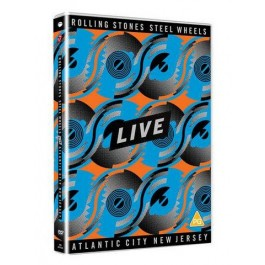Steel Wheels Live (Atlantic City 1989) [DVD]