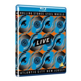 Steel Wheels Live (Atlantic City 1989) [Blu-ray]