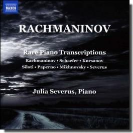 Rare Piano Transcriptions [CD]