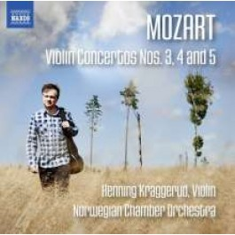 Violin Concertos Nos. 3, 4 and 5 [CD]