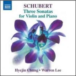 Three Sonatas for Violin and Piano [CD]