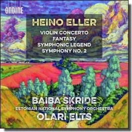 Violin Concerto | Symphonic Legend | Fantasy | Symphony No. 2 [CD]