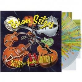 Setzer Goes Instru-Mental! [Yellow Splatter Vinyl] [LP]