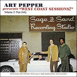 Art Pepper Presents: West Coast Sessions Vol. 2: Pete Jolly [CD]
