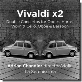 Double Concertos for Oboes, Horns, Violin & Cello, Oboe & Bassoon [CD]