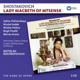 Lady Macbeth of Mtsensk [2CD]