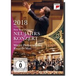 Neujahrskonzert / New Year's Concert 2018 [DVD]
