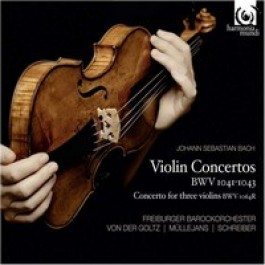 Violin Concertos BWV 1041-43, Concerto for three violins BWV 1064R [CD]