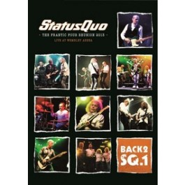 Back2 SQ.: The Frantic Tour Reunion 2013 - Live At Wembley [DVD+CD]