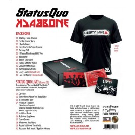 Backbone [Deluxe Box] [2CD+ L size T-shirt]