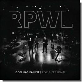 God Has Failed - Live & Personal [CD]