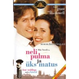 Neli pulma ja üks matus | Four Weddings and a Funeral [DVD]