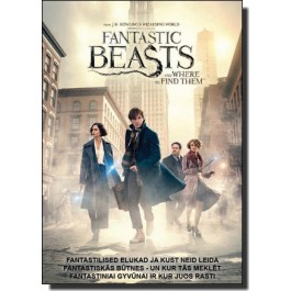 Fantastilised elukad ja kust neid leida | Fantastic Beasts and Where to Find Them [DVD]