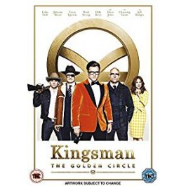 Kingsman: Kuldne ring / Kingsman: The Golden Circle [DVD]