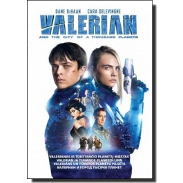Valerian ja tuhande planeedi linn | Valerian and the City of Thousand Planets [DVD]