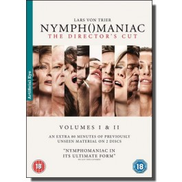 Nymphomaniac Volumes I & II [The Director's Cut] [2x DVD]