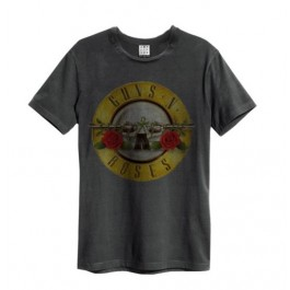 Drum (Bullet) Amplified Vintage Charcoal X Large T Shirt