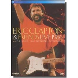 Eric Clapton & Friends - Live 1986 [DVD]