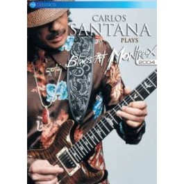 Carlos Santana Plays Blues at Montreux 2004 [DVD]