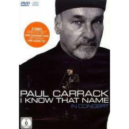 I Know That Name: In Concert [DVD+CD]