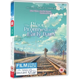 The Place Promised in Our Early Days + Voices of a Distant Star [DVD]