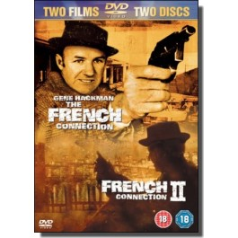 The French Connection + French Connection II [2x DVD]