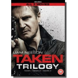 Taken Trilogy [3x DVD]