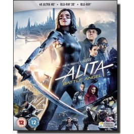 Alita - Battle Angel [4K UHD | 2D+3D Blu-ray]