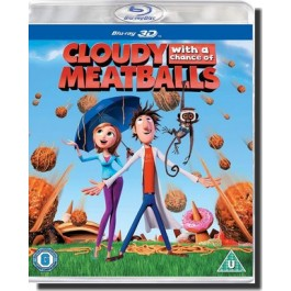 Taevast sajab lihapalle | Cloudy with a Chance of Meatballs [3D Blu-ray]