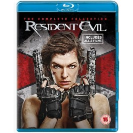 Resident Evil: The Complete Collection [6x Blu-ray]