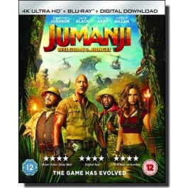 Jumanji: Welcome to the Jungle [4K UHD+Blu-ray+DL]