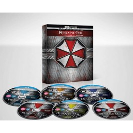 Resident Evil: The Complete Collection [6x 4K UHD+ 6x Blu-ray]