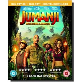 Jumanji: Welcome to the Jungle [2D+3D Blu-ray]