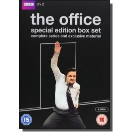 The Office 10th Anniversary Edition: Complete Series 1 & 2 and the Christmas Specials [4DVD]
