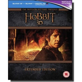 The Hobbit: Trilogy - Extended Edition [2D+3D] [15Blu-ray]