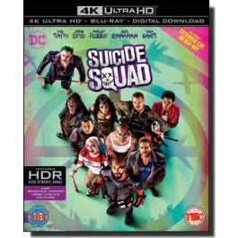 Suicide Squad [4K UHD+Blu-ray+DL]