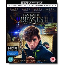 Fantastic Beasts and Where to Find Them [4K UHD+ Blu-ray]