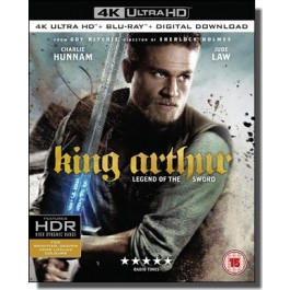 King Arthur: Legend of the Sword [4K UHD+ Blu-ray]