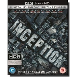 Inception [4K UHD+Blu-ray+DL]