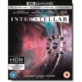 Interstellar [4K UHD+Blu-ray+DL]