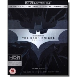 The Dark Knight Trilogy [9x 4K UHD+ Blu-ray]