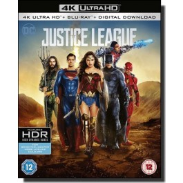 Justice League [4K UHD+Blu-ray]