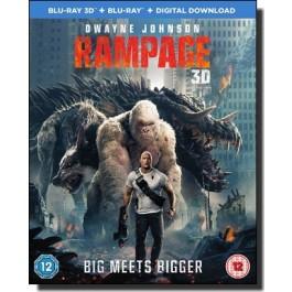 Rampage: Big Meets Bigger [2D+3D+Blu-ray+DL]