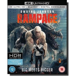Rampage: Big Meets Bigger [4K UHD+Blu-ray+DL]